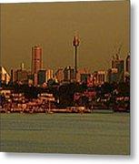 Sydney Sunset Metal Print