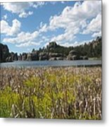Sylvan Lake Metal Print