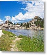 Sylvan Lake Trail In Custer State Park-south Dakota Metal Print