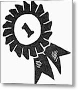 Symbol Achievement Metal Print