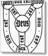 Symbol Holy Trinity Metal Print