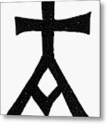 Symbols Chrisma Metal Print