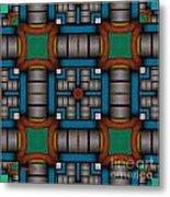 Symmetrica 300 Metal Print