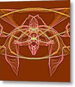 Symmetry Art 2 Metal Print
