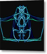 Symmetry Art 3 Metal Print