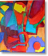 Syncopated Metal Print by Diane Fine