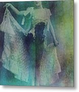 Syncopated Lady Metal Print