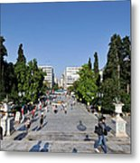 Syntagma Square In Athens Metal Print