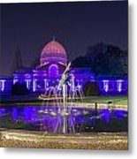 Syon House All Lit Up Metal Print
