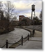 Syracuse Creekwalk Metal Print
