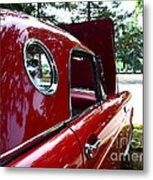 Vintage Car - Opera Window T-bird - Luther Fine Art Metal Print