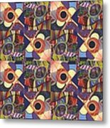 T J O D Tile Variations 10 Metal Print