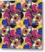 T J O D Tile Variations 14 Metal Print