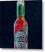 Tabasco Sauce 20130402 Metal Print