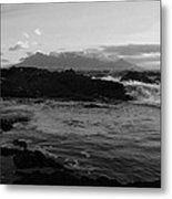 Table Mountain Black And White 2 Metal Print
