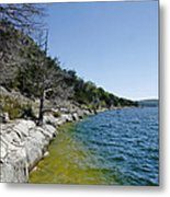 Table Rock Lake Shoreline Metal Print