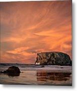 Table Rock Sunset Metal Print