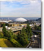Tacoma Dome And Auto Museum Metal Print