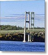 Tacoma Narows Bridge 54 Metal Print