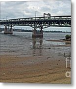 Tacony Palmyra Bridge Metal Print