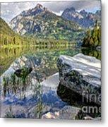 Taggart Lake  Grand Teton National Park Metal Print