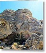Tagged Rocks Metal Print