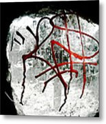 Tagged Window Metal Print