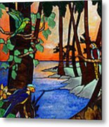 Tahiti Window Metal Print