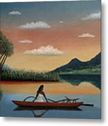 Tahitian Morning Metal Print by Gordon Beck