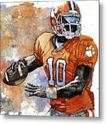 Tahj Boyd Metal Print by Michael  Pattison
