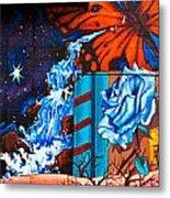 Tahlequah Graffiti Metal Print