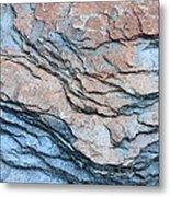 Tahoe Rock Formation Metal Print by Carol Groenen