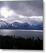 Tahoe Winter Metal Print