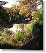Tahquamenon Falls With My Iphone Metal Print