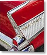 Tail Fins Are In 1957 Chevy Metal Print