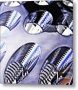 Tail Light Detail Metal Print