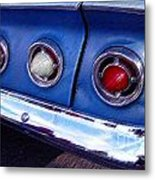 Tail Lights And Fenders Metal Print