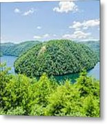 Tail Of The Dragon Scenic Road In Great Smoky Mountains Metal Print