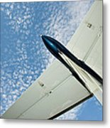 Tail Of The Airplane Metal Print