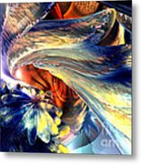 Tailed Beast Abstract Metal Print