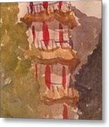 Taiwan Pagoda Metal Print