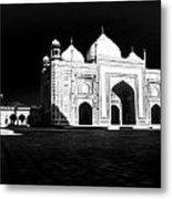 Taj Mahal Agra Metal Print