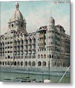 Taj Mahal Hotel, Bombay (mumbai) Metal Print