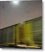 Take A Fast Train Metal Print