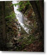 Take A Hike Metal Print by Bill Wakeley