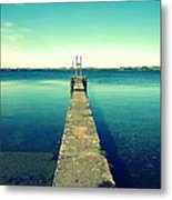 Take A Walk Metal Print