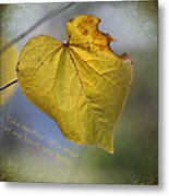 Take Another Little Piece Of My Heart Metal Print