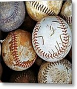 Take Me Out To The Ball Game Metal Print