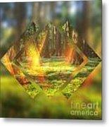Take Me To The Magic Forest Metal Print
