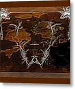 Take The Bull By Its Horns Metal Print